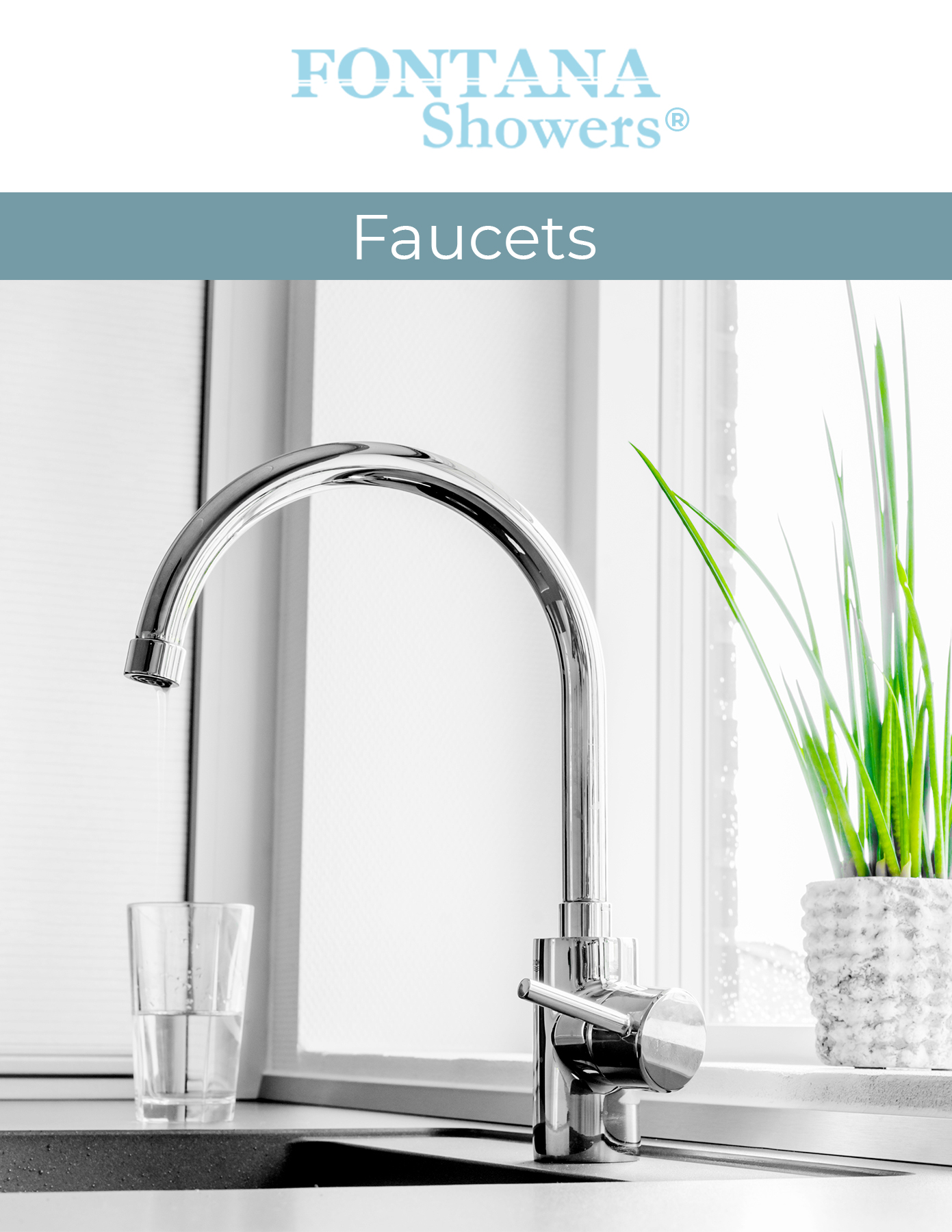 Fontana Showers commercial catalog Faucets